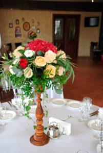 оформлення столу гостей