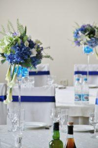 квіти на стіл гостей